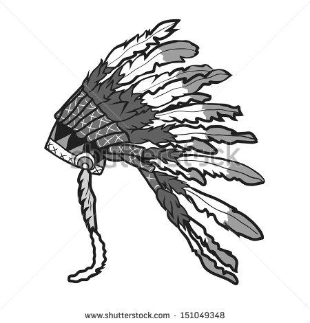 Native American Head Dress Stock Vectors, Images & Vector Art.