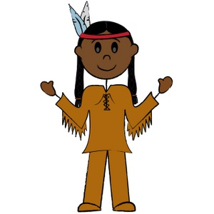 Indian clipart #19