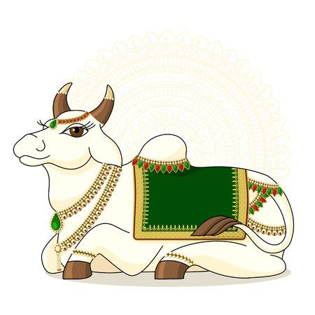 1,704 Indian Cow Stock Vector Illustration And Royalty Free Indian.