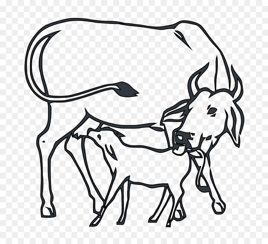 Cows clipart cow indian, Cows cow indian Transparent FREE.