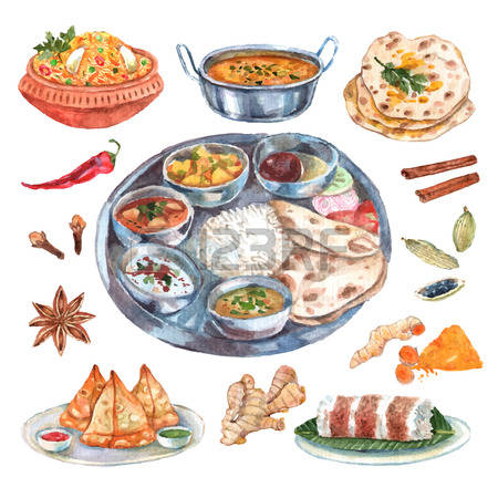 4,550 Indian Food Cliparts, Stock Vector And Royalty Free Indian.
