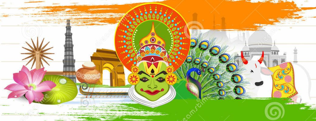Indian Heritage And Culture Clipart.