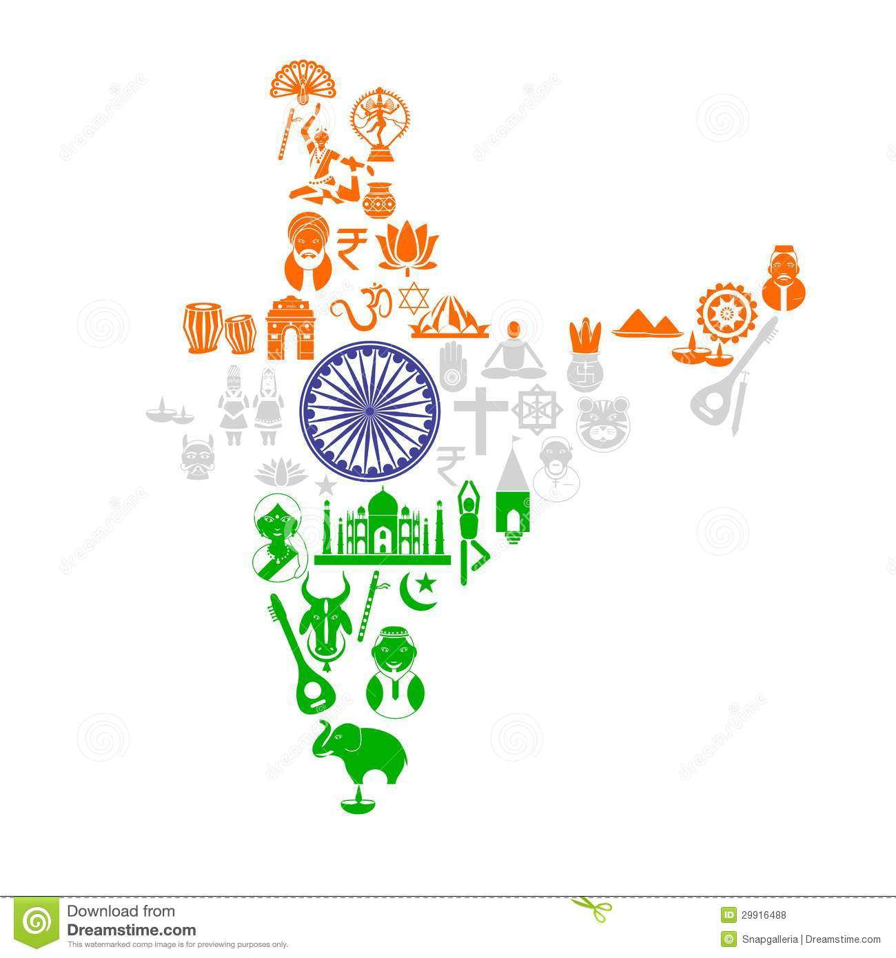 Indian culture clipart 2 » Clipart Station.