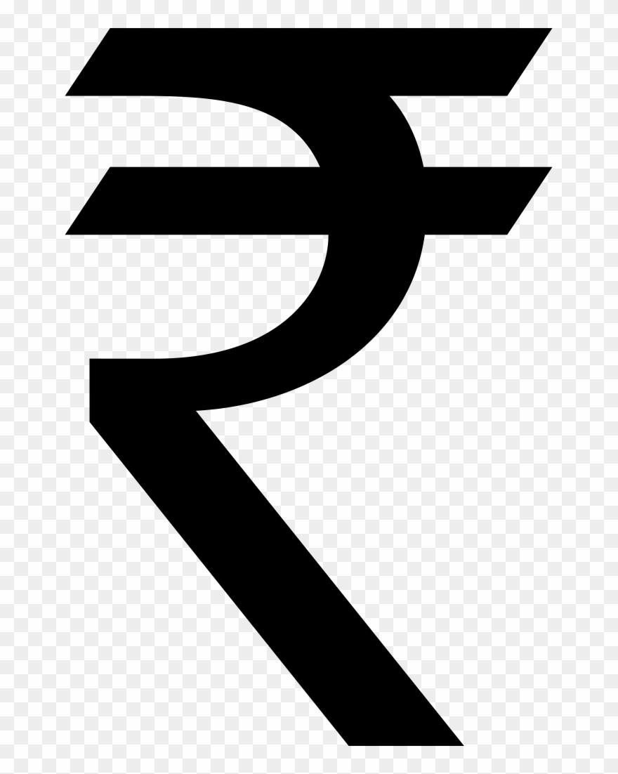 Indian Rupee Symbol Clipart, Vector Clip Art Online,.