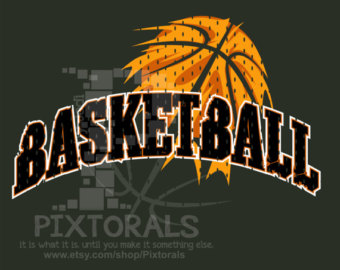 Indian basketball clipart.