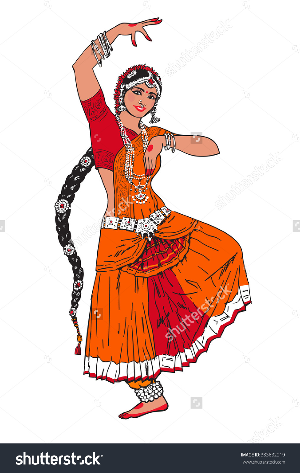 Bollywood Clip Art, Vector Images & Illustrations - iStock |Bollywood Dancer Clipart