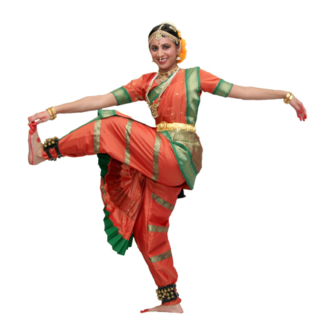 Indian dance clipart.