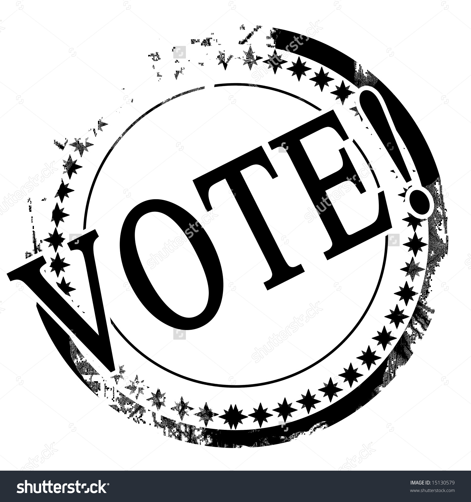Black Stamp Vote Written On Stock Illustration 15130579.