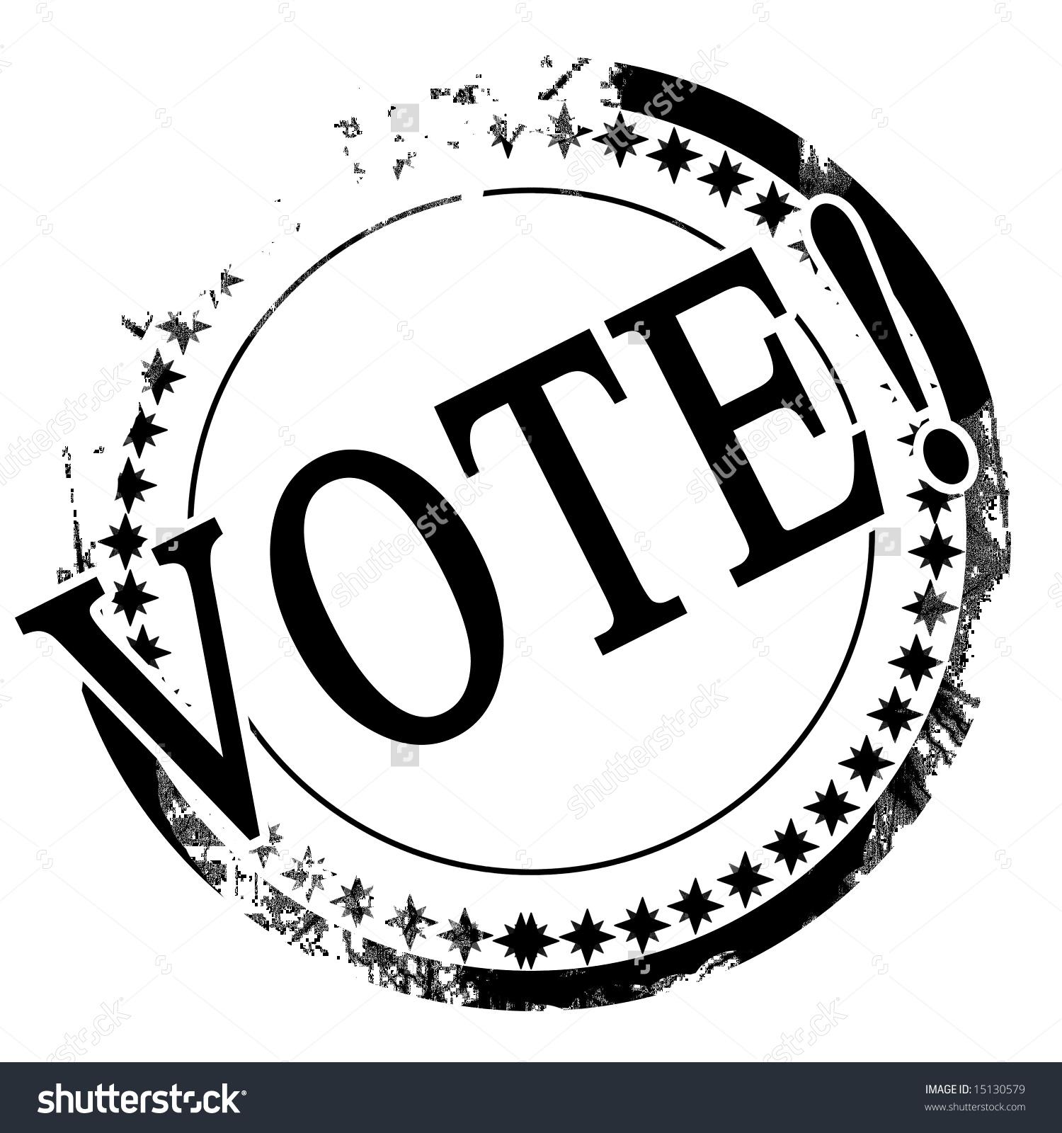 Black Stamp Vote Written On Stock Illustration 15130579.