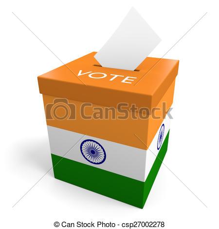 India election ballot box Clip Art and Stock Illustrations. 14.