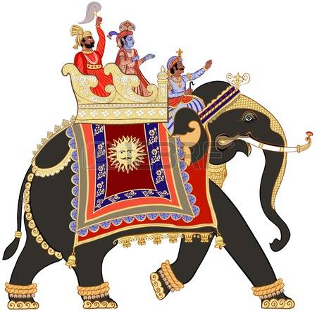 Indian elephant clipart - Clipground