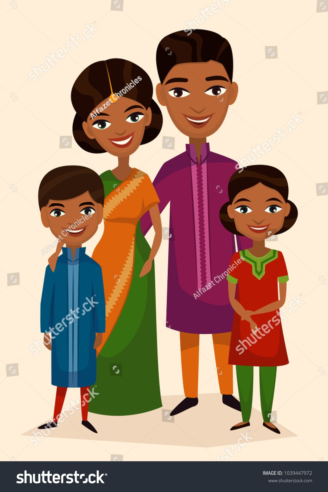 Indian family clipart 7 » Clipart Portal.