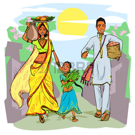 1,653 Indian Family Stock Illustrations, Cliparts And Royalty Free.