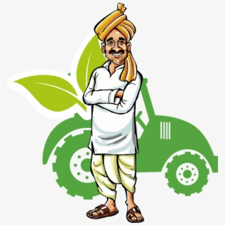 Indian Farmer Png.