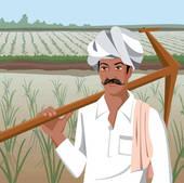 Indian farmer clipart.
