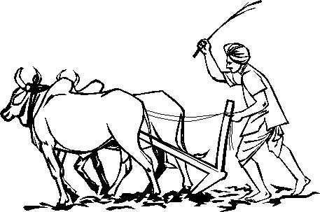 Indian Farmer Clipart Images.
