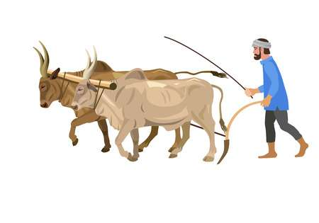 561 Indian Farmer Stock Vector Illustration And Royalty Free Indian.