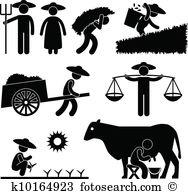 Farmer Clip Art Illustrations. 92,310 farmer clipart EPS vector.