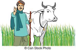 Indian farmer Vector Clip Art Illustrations. 375 Indian farmer.