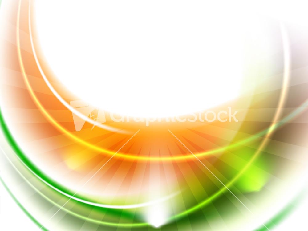 Shiny Indian Flag Wave Background. Stock Image.