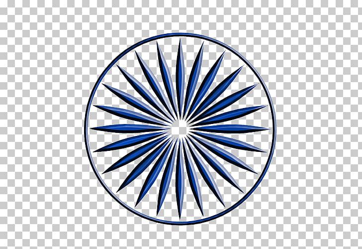 Ashoka Chakra Kundalini Flag of India , chakra, round blue.