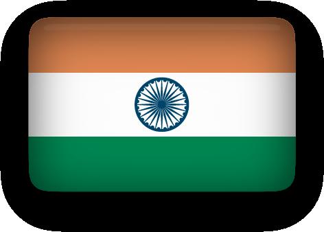 Free Animated India Flags.