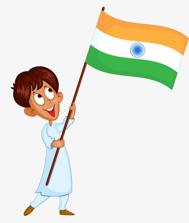 Flag Of India in 2019.