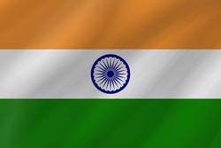 India flag clipart.