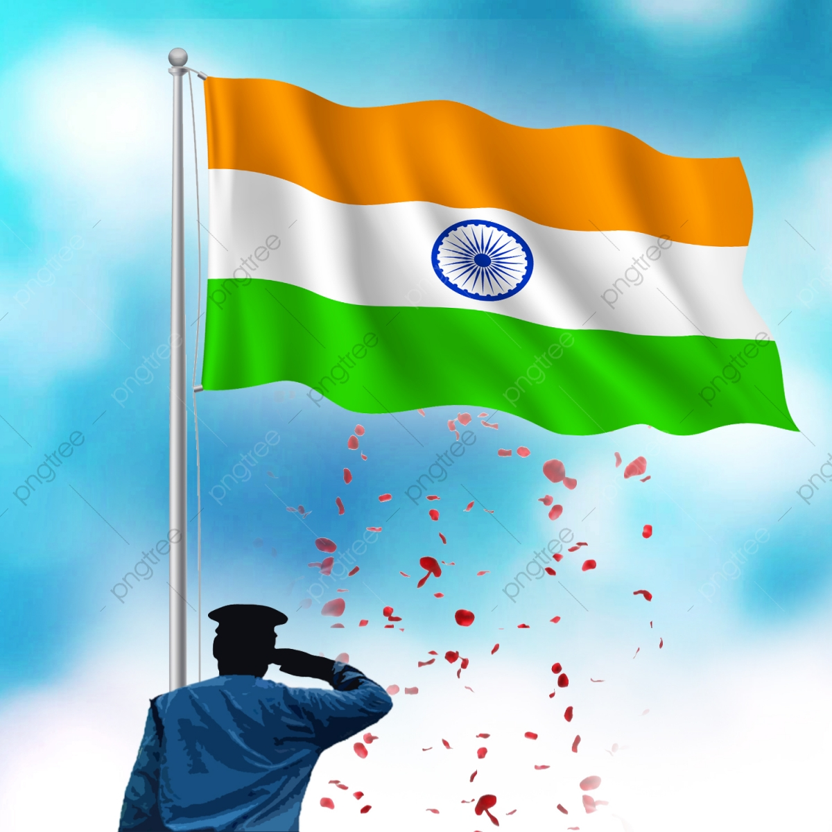 Indian Flag Republic Day Independence Day Vector, Indian Flag.