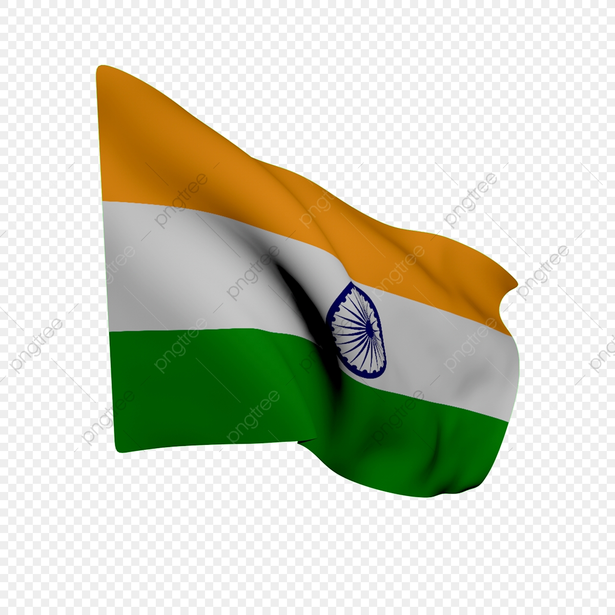 Flying Indian Flag, Indian Republic Day, Flag Of India, Indian Flag.