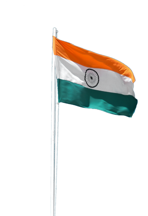 Hindustani Indian Flag PNG Transparent Image (26).