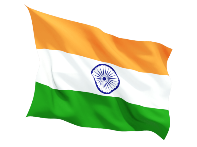 Indian Flag transparent PNG.