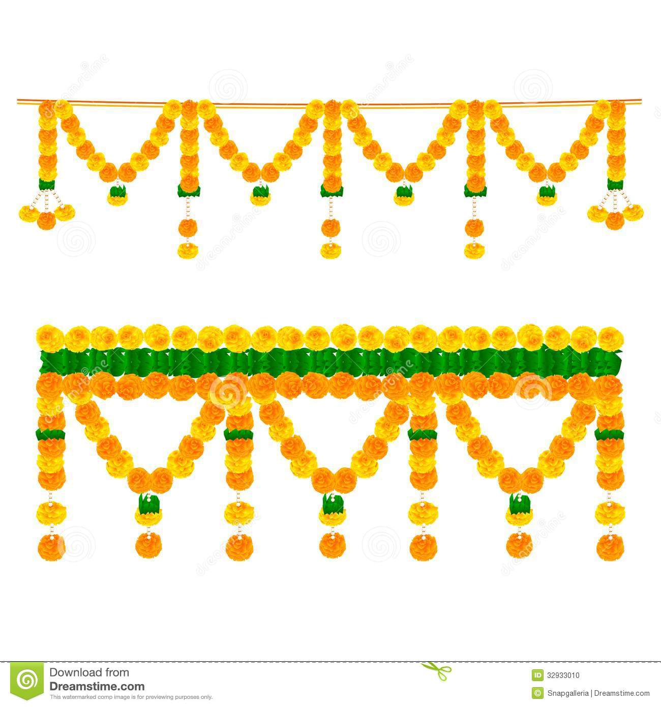 Indian Flower Garland Stock Photos, Images, & Pictures.