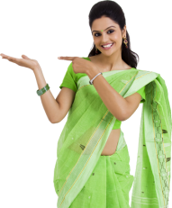 Download indian girl png image hd Transparent Background.