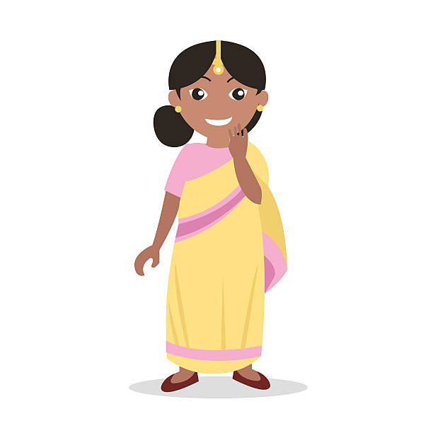 Clipart Indian Girl.