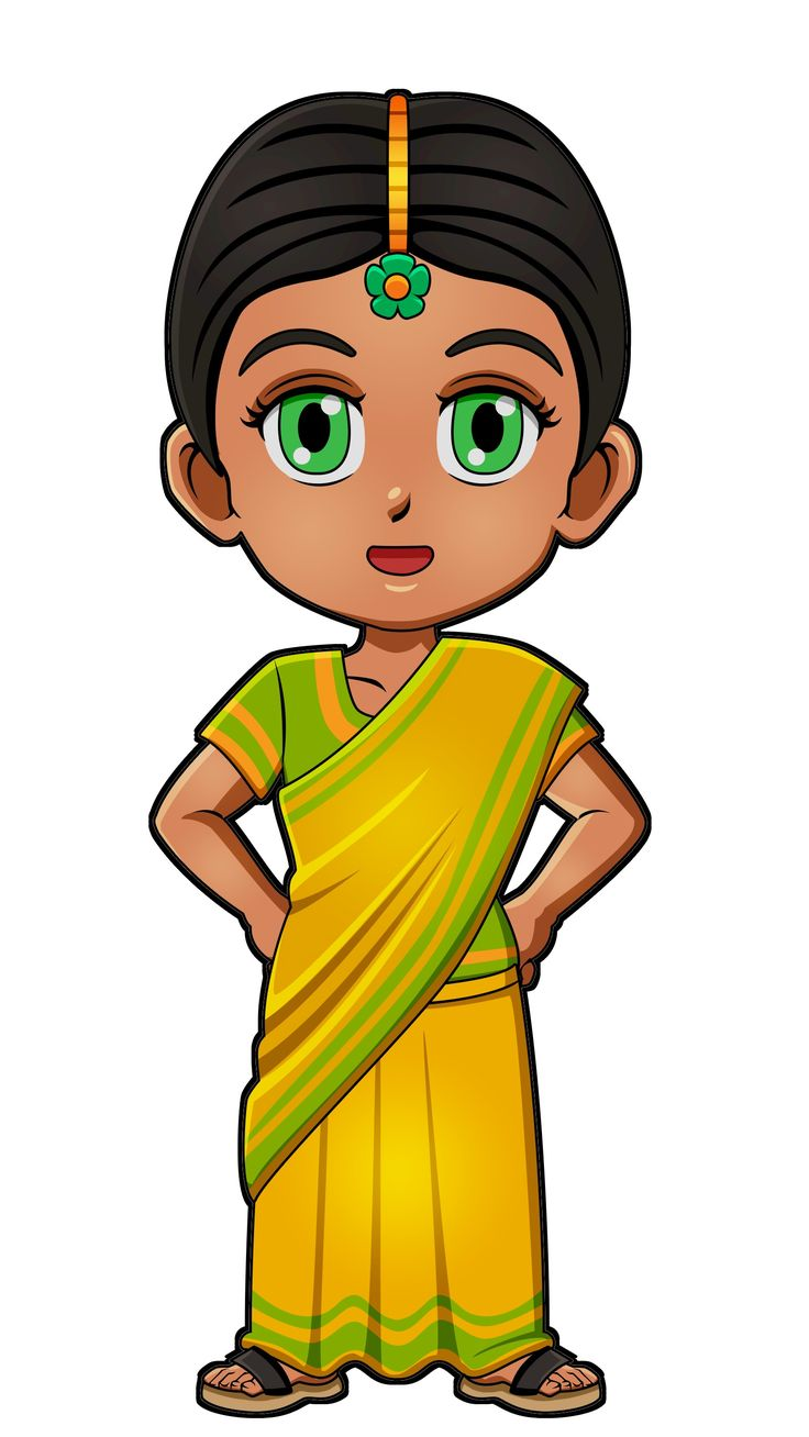 Indian Girl Clipart at GetDrawings.com.