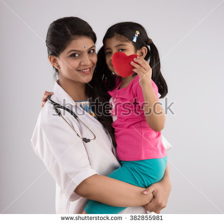 Indian Doctor Stock Images, Royalty.