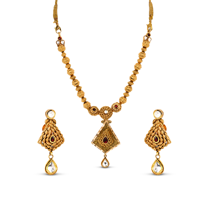 ORRA Gold Set Necklace.