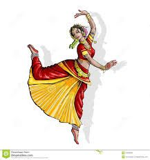 Bharatnatyam Beautiful dance Pose.