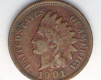 Indian head penny.
