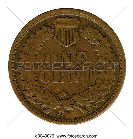 Stock Images of Indian Head Penny c0040076.