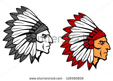Indian Head Stock Images, Royalty.
