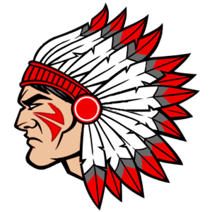 Indian Head Clipart Vector.