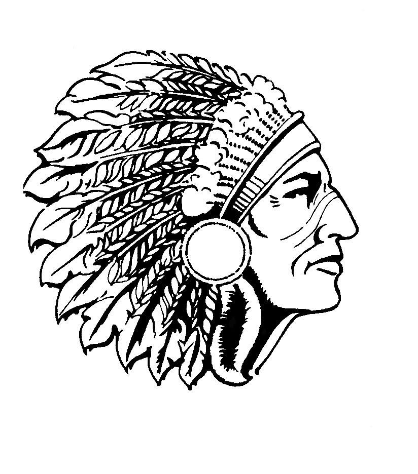 Indian head mascot clipart 3 » Clipart Portal.