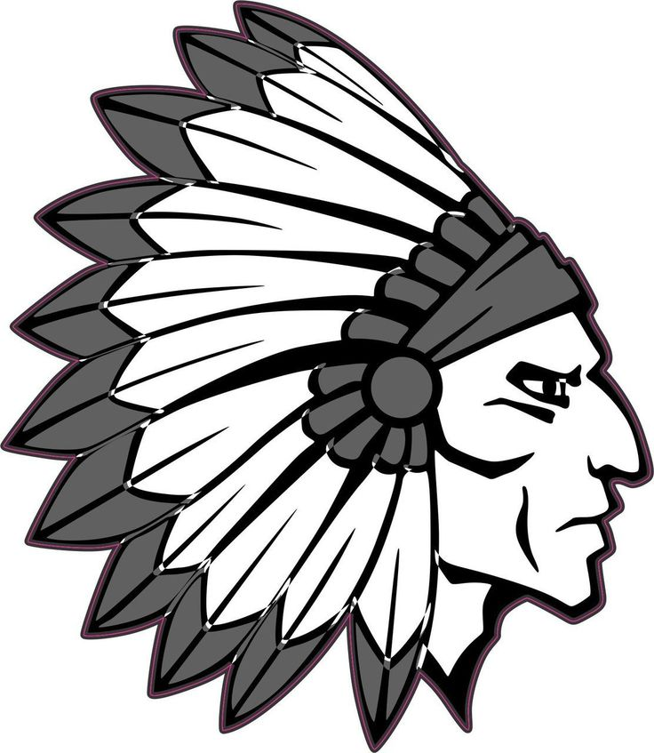 Indian Head Clipart.