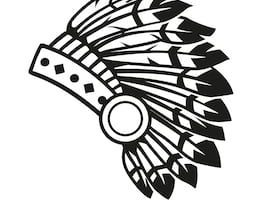 Indian headdress clipart black and white 6 » Clipart Portal.
