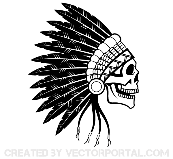 Simple Headdress Clipart.