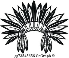 Headdress Clip Art.
