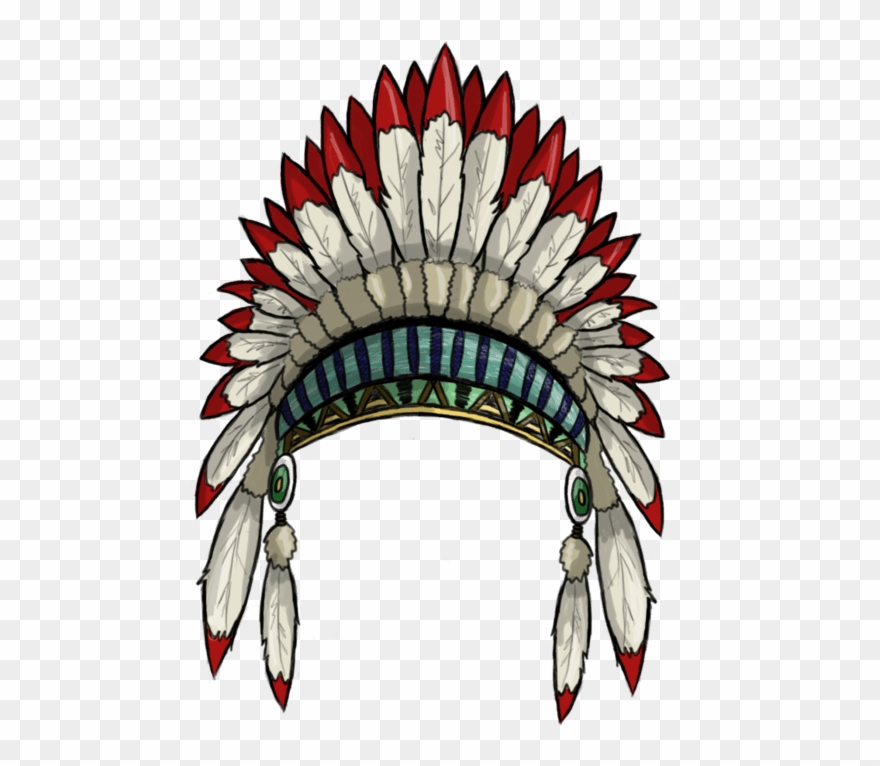 Native American Headdress Png Clipart (#1603537).