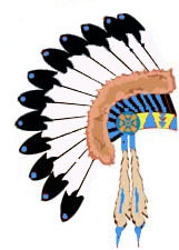 Indian Headdress Clipart.